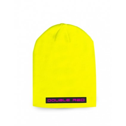 Čiapka  DOUBLE RED  DNA RED BEANIE Neon Yellow