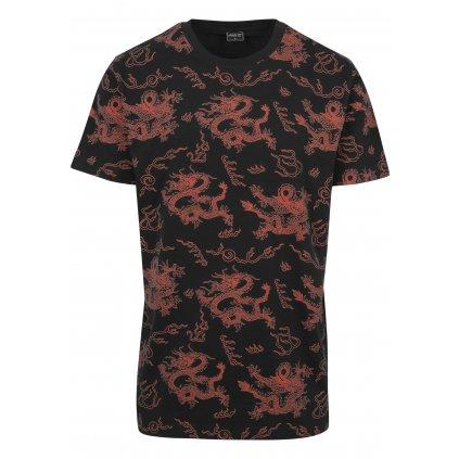 Pánske tričko  Dragon Tee black