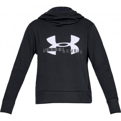 Dámska mikina cotton Fleece Sportstyle Logo hoodie