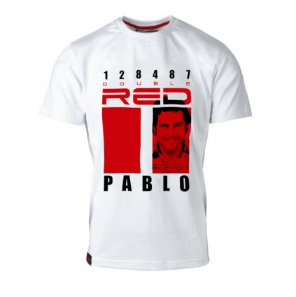 Tričko  DOUBLE RED  T-Shirt Pablo Mafia Edition