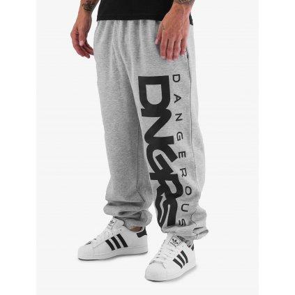 Pánske tepláky  Dangerous DNGRS / Sweat Pant Classic in grey