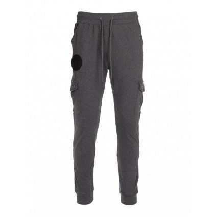 Tepláky  DOUBLE RED  Sweatpants Side Pocket Grey
