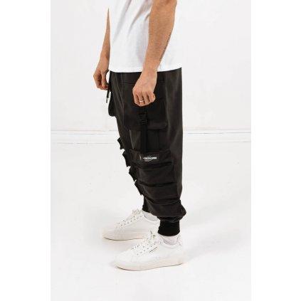 SIXTH JUNE POCKET PANTS BLACK