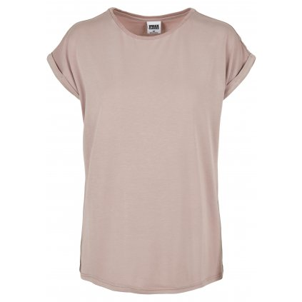 Dámske tričko  Ladies Modal Extended Shoulder Tee duskrose