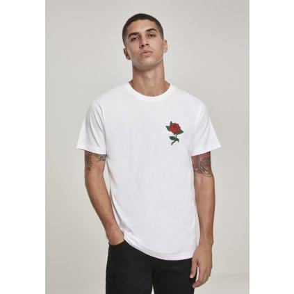Pánske tričko  Rose Tee white