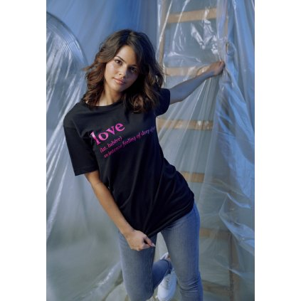Dámske tričko  Ladies Love Definition Tee black