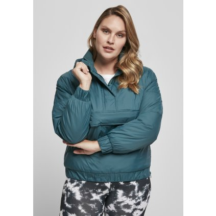 Bunda  Ladies Panel Padded Pull Over Jacket jasper