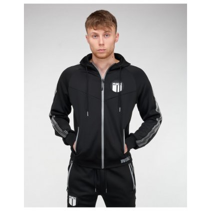 Mikina  DOUBLE RED  REFLEXERO SPORT IS YOUR GANG Tracksuit B&W™ Edition