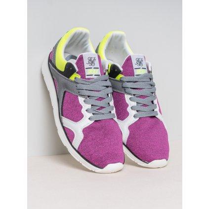 Pánske fialové tenisky SikSilk Zonal Runner