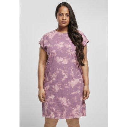 Ladies Bleached Dress duskviolet