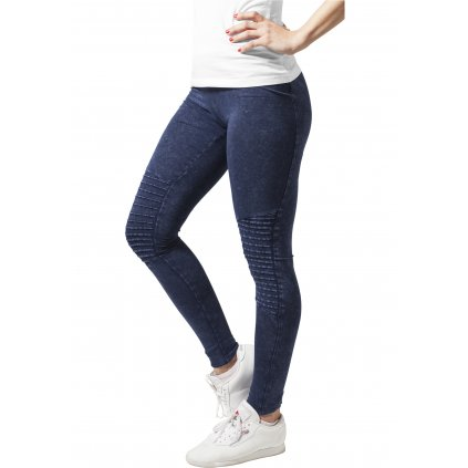 Legíny  Ladies Denim Jersey Leggings indigo