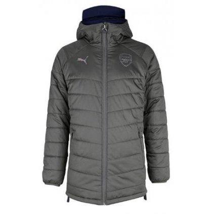 Bunda Puma Arsenal FC Bench Jacket Reversible (obojstranná)