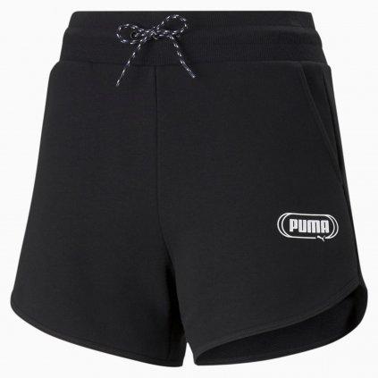Dámské šortky Puma Rebel High Waist