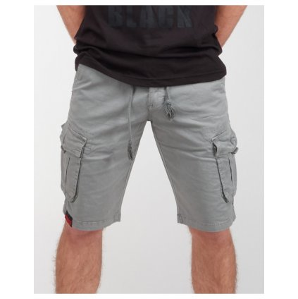 DOUBLE RED  SOLDIER Shorts Silver
