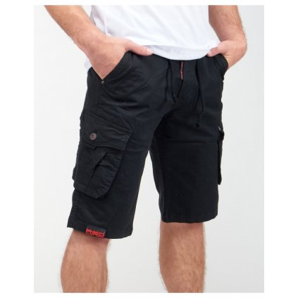 DOUBLE RED  SOLDIER Shorts Black