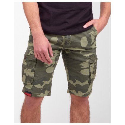 DOUBLE RED  SQUERS Shorts Green Camo