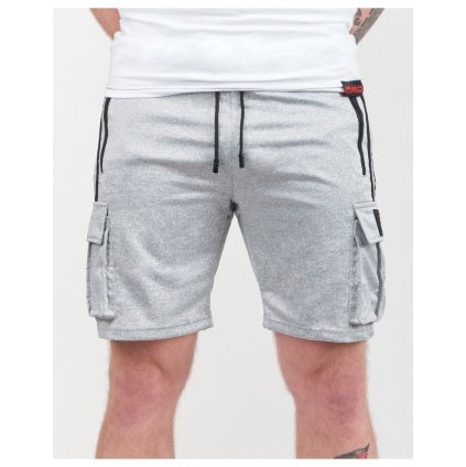 DOUBLE RED  SPORT IS YOUR GANG Shorts Silver