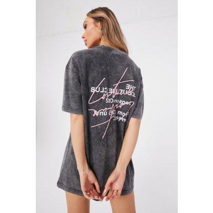 Tričko  DOUBLE SIGNATURE SEASON T-SHIRT DRESS