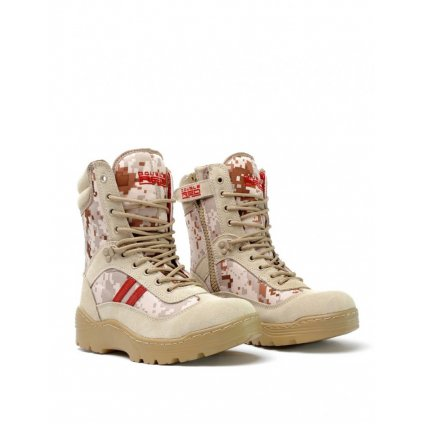 DOUBLE RED  Boots Digital Red Desert