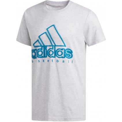 Tričko adidas Graphic Tee Wanted Logo