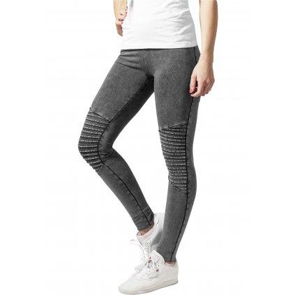 Legíny  Ladies Denim Jersey Leggings darkgrey