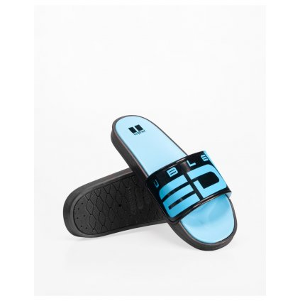 DOUBLE RED  Neon Streets™ Slippers Blue