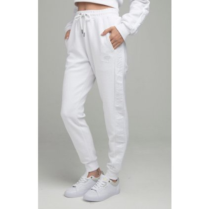 Tepláky  SIKSILK LOOPBACK EMBROIDERED JOGGERS