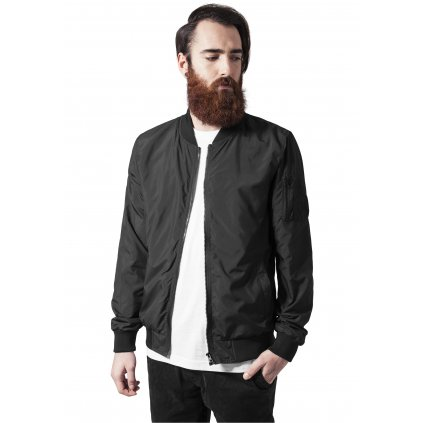 Pánska bombera Light Bomber Jacket black