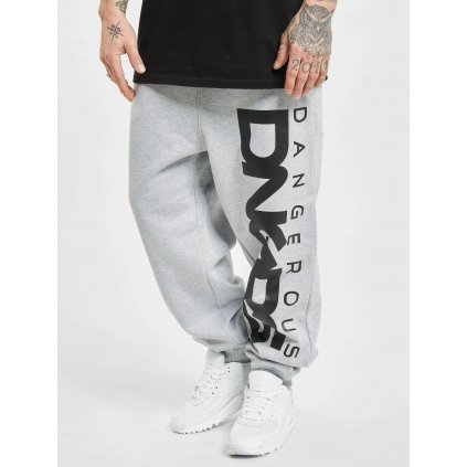 Pánske tepláky  Dangerous DNGRS / Sweat Pant Classic in grey