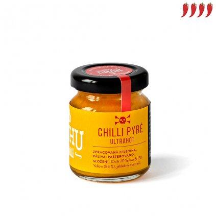 Chilli pyré ultrahot yellow