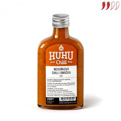 Meruňková chilli omáčka 200ml hot