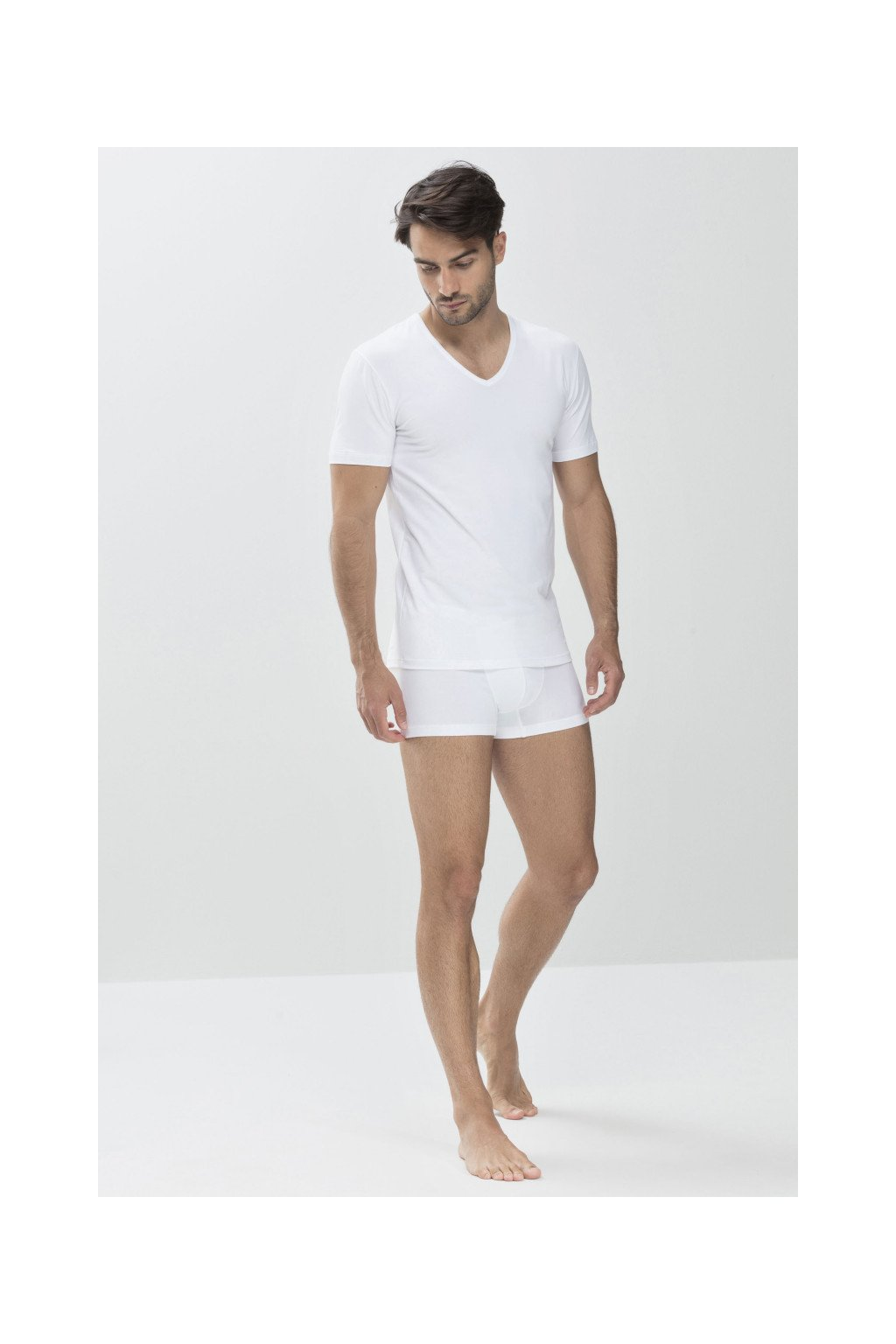 Tričko Mey V-neck Dry Cotton 46007