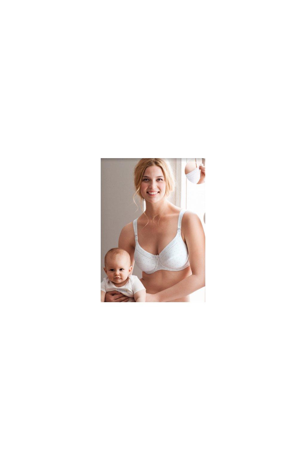 Podprsenka na kojenie s kosticou Anita Miss Cotton 5056