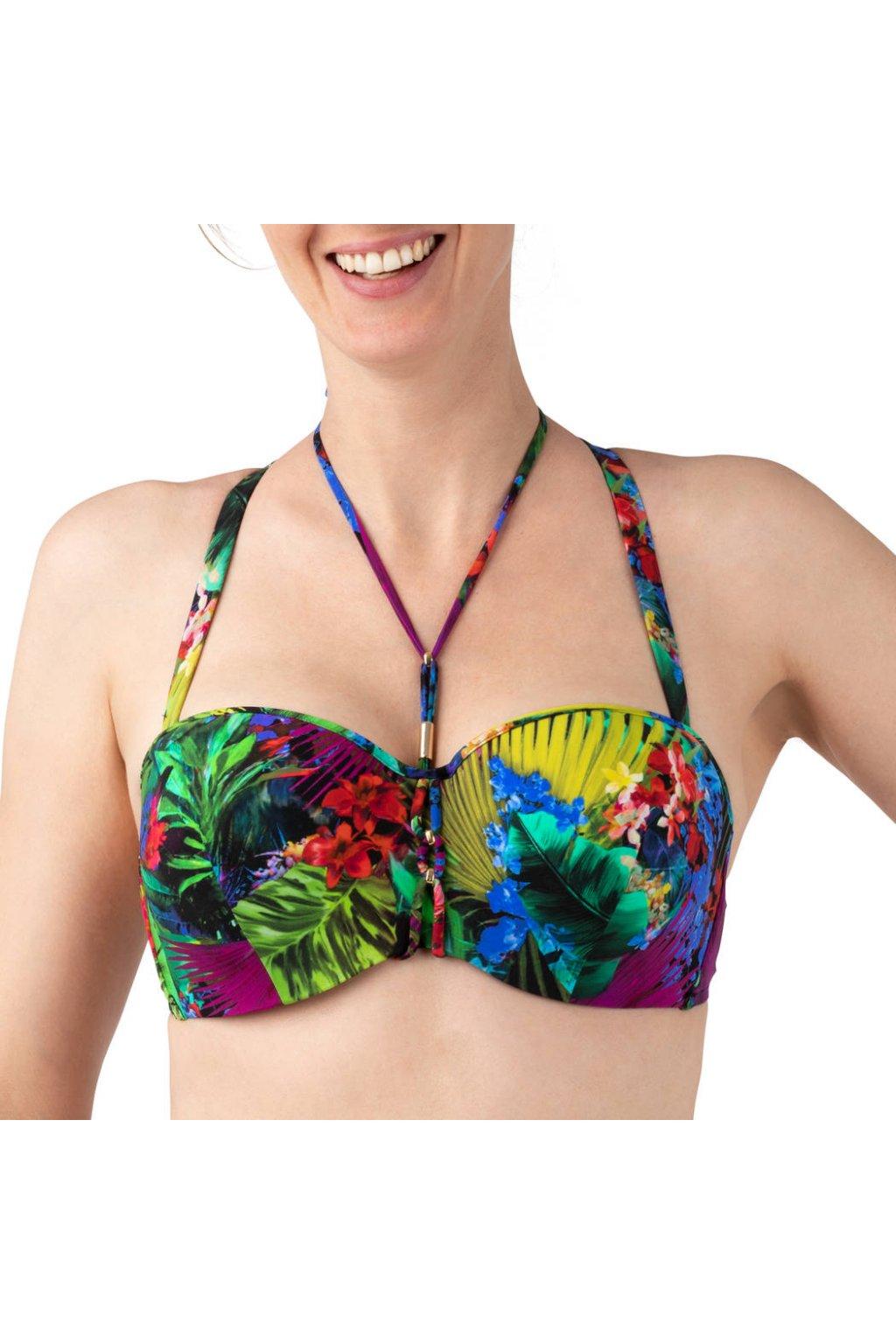 maillot de bain lise charmel sublime amazone multicolore