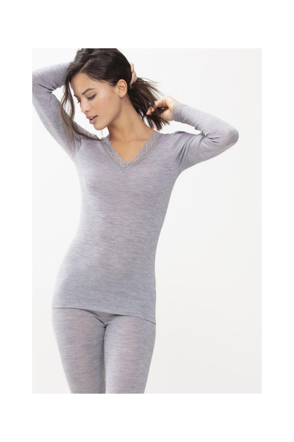 Dámske tričko Mey Silk Touch&Wool 66003