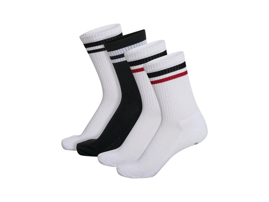 HUMMEL 213259 - Ponožky hmlRETRO 4-PACK SOCKS MIX