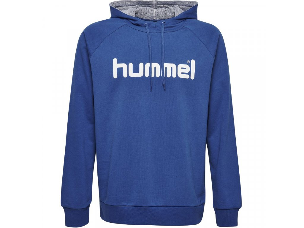 HUMMEL 203512-Mikina GO COTTON LOGO HOODIE JR.