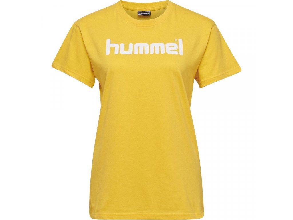 HUMMEL 203518-Triko GO COTTON LOGO W.