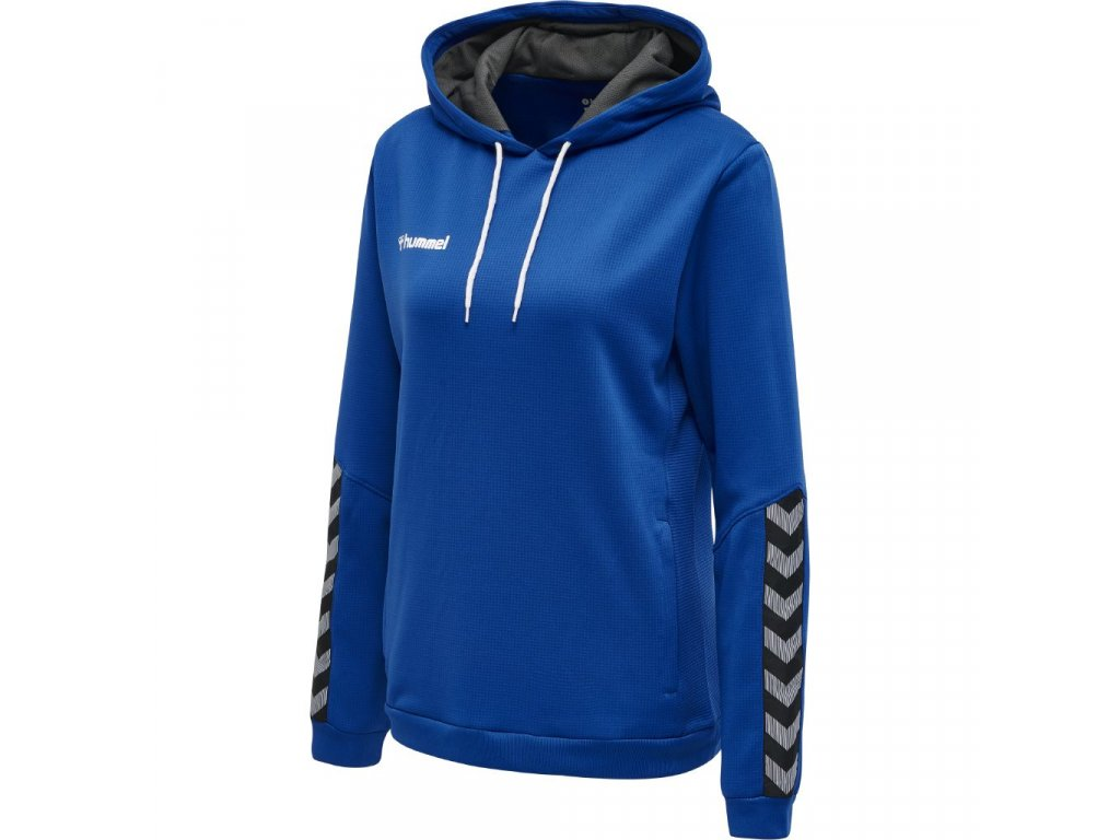 HUMMEL 204932 - Mikina hmlAUTHENTIC POLY HOODIE WOMAN