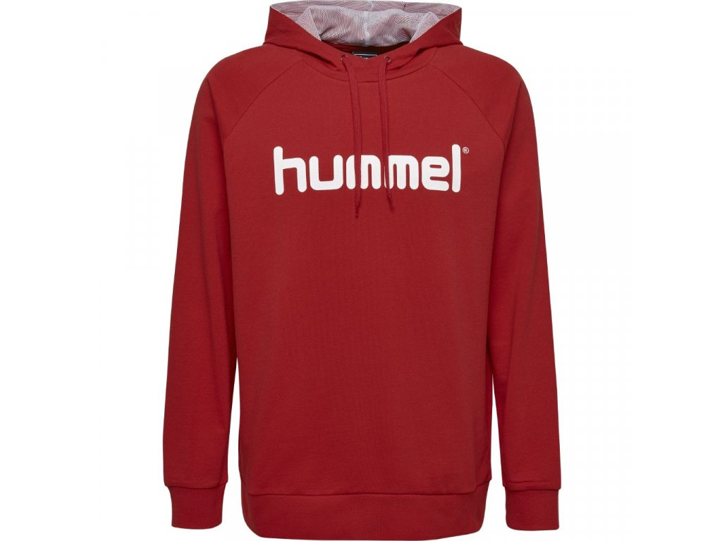 HUMMEL 503511- Souprava GO COTTON LOGO HOODIE SR.