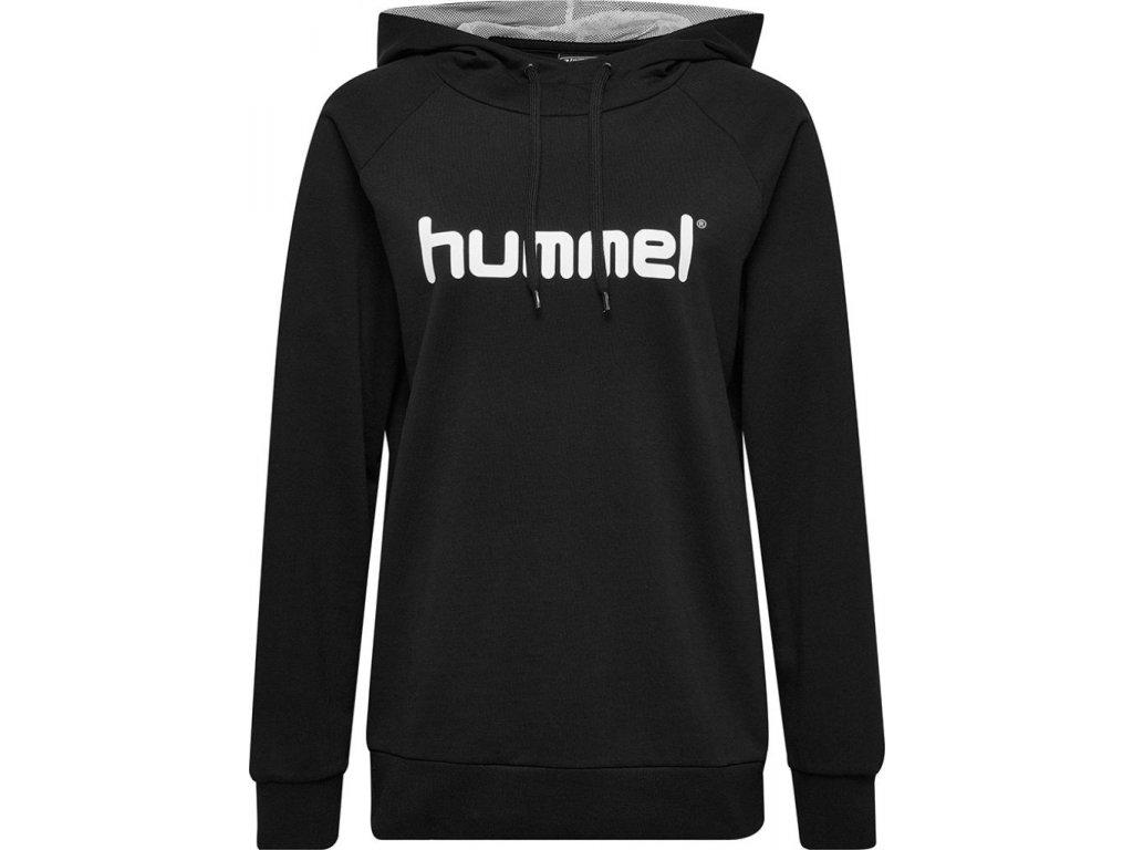 HUMMEL 503517- Souprava GO COTTON LOGO HOODIE W.