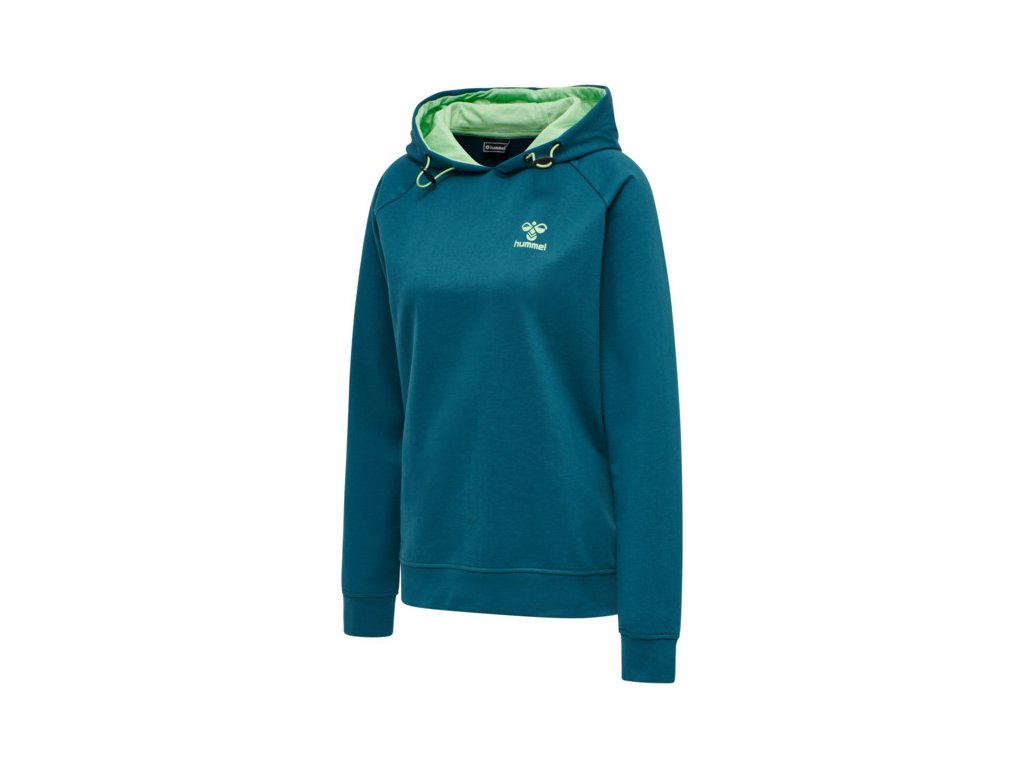 HUMMEL 211101 - Mikina hmlACTION COTTON HOODIE WOMAN