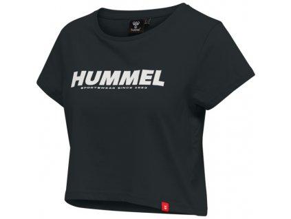 HUMMEL 212560 - Triko hmlLEGACY WOMAN CROPPED T-SHIRT