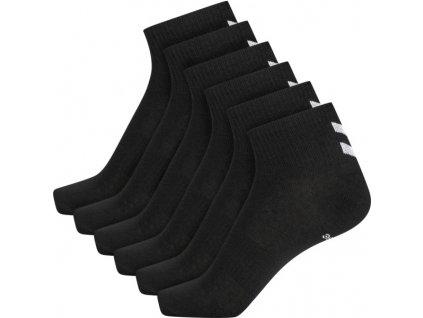 HUMMEL 213252 - Ponožky hmlCHEVRON 6-PACK MID CUT SOCKS