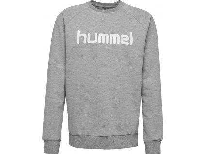 HUMMEL 203515-Mikina GO COTTON LOGO SR.