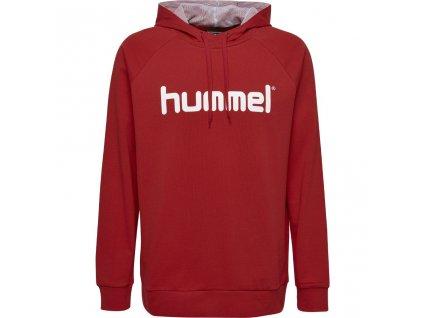 HUMMEL 203511-Mikina GO COTTON LOGO HOODIE SR.