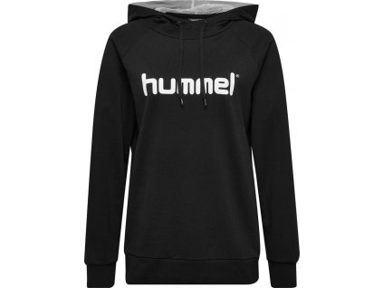 HUMMEL 203517-Mikina GO COTTON LOGO HOODIE W.