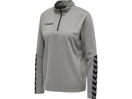 HUMMEL 204929 - Mikina hmlAUTHENTIC HALF ZIP SWEATSHIRT WOMAN