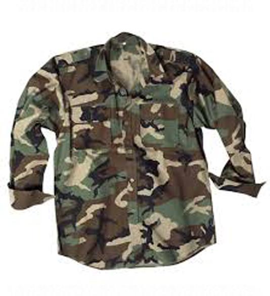 Vojenské košele