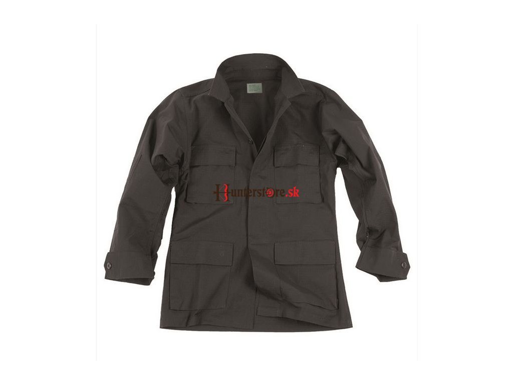 Bluza BDU rip stop čierná